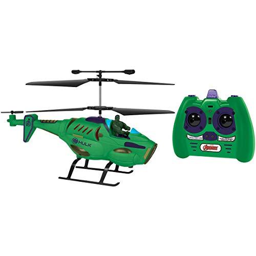 Marvel Avengers Hulk IR Hero Pilot RC Helicopter, Green, 19.5 x 3 x 8