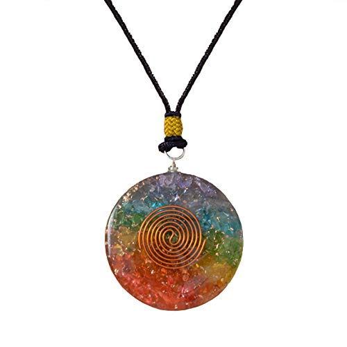 one Crystal pendant for Strengthen Immune System - Heart - Self Confidence – Positivity- Emotional Body Purification ()