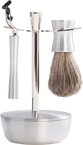 Pure Badger Razor Stand with Soap Tray by Bey-Berk by Bey-Berk