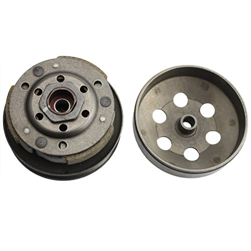 GOOFIT Complete Clutch Assembly Rear Clutch for GY6 49cc 50c 139QMB Scooter Taotao Roketa Sunl