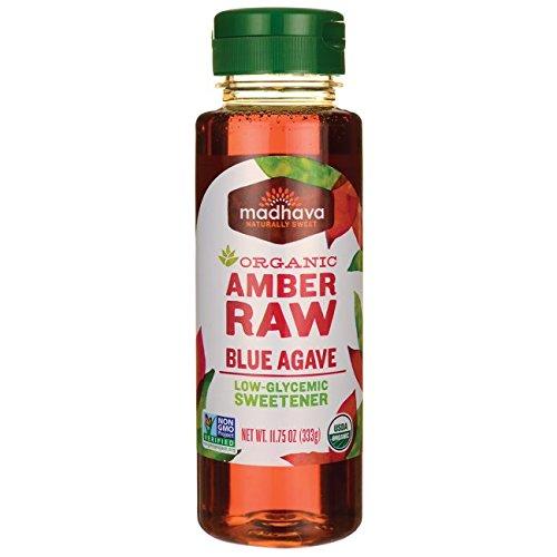 Organic Nectar Raw Agave (Madhava Organic Amber Raw Blue Agave - 11.75 oz)