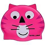 infant swim cap - Water Gear Critter Cap, Pink Cat
