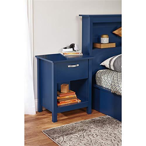 Ameriwood Home 5894103COM River Layne Nightstand Standard Blue