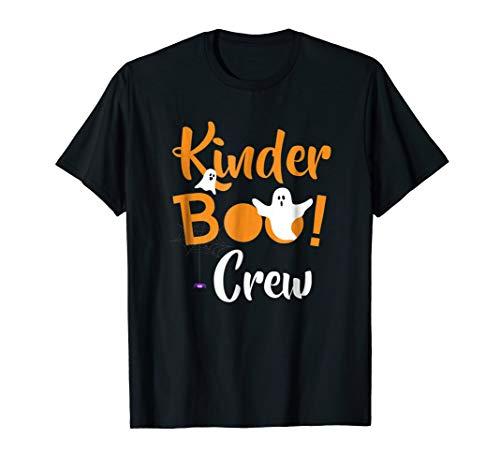 (Kinder Boo Crew Shirt Kindergarten Halloween Costume)