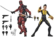 Bonecos Hasbro Marvel Legends Series Deadpool e Negasonic Teenage Warhead - E9288