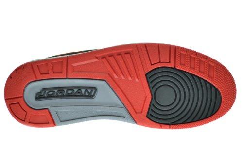 quality design 20697 5fc33 Jordan Flight TR 97 Mid Men s Basketball Shoes Black Fire Red-Cement Grey  574417-011 (12 D(M) US)