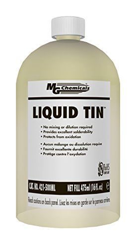 MG Chemicals Liquid Tin, 475 ml Bottle