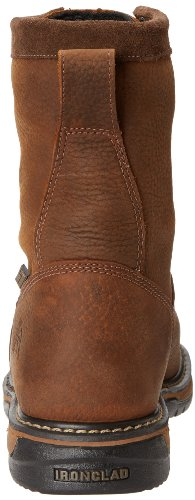 LTT Work Rocky Eight Clad Men's Brown Iron Inch Boot wXXzqTFA
