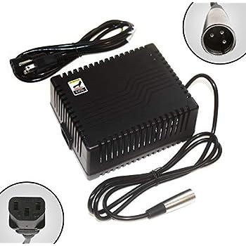 Amazon.com: abakoo Nueva 24 V 5 A cargador de batería para ...