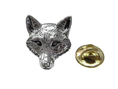Pewter Fox - Pewter Fox Head Lapel Pin