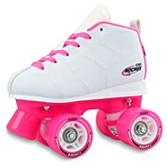 The ROCKET by Crazy Skates is a trusted, performance skate perfect for young beginner skaters! Comfortable, stable and totally functional. Rockets have been designed to give a young child the best possible start when they are learning to skat...