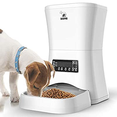 Automatic cat feeder Automatic Pet Feeder | Auto Cat Dog Timed Programmable Food Dispenser... [tag]