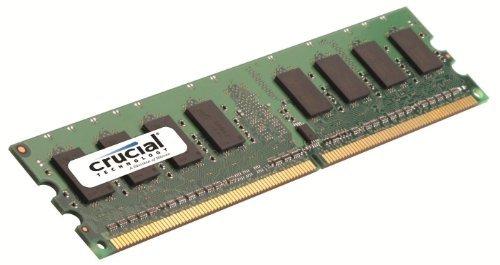 Optiplex Gx280 Memory Upgrade - Crucial CT12864AA667 1GB 240-pin DDR2 667mhz Non-ECC 1.8V CL5 Desktop Memory Module