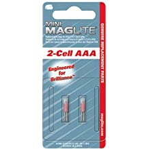 Maglite Mini Mag Flashlight Bulb Card