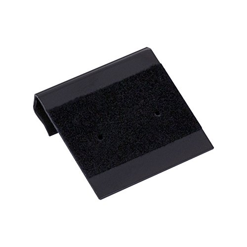 - Earring Card 1x1 Black Flocked (Pack 100) Earring Jewelry Display