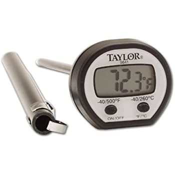 Taylor Precision Products High Temperature Digital Thermometer