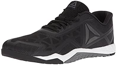 Reebok Men's ROS Workout TR 2.0 Sneaker, Black/Alloy/White, 6.5 M US