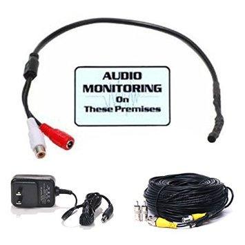 VideoSecu High Sensitive Preamp Audio Microphone Mic Soun...