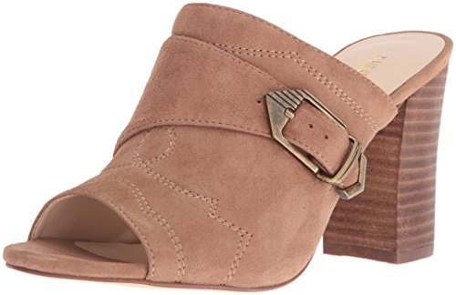 Image of Nine West Women's Betty Suede Mule, Natural, 8.5 M US