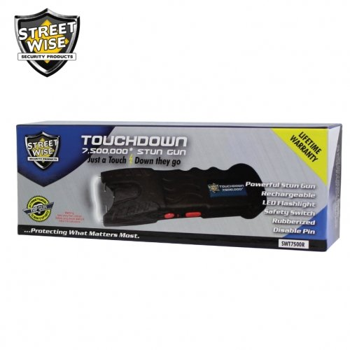 Touchdown 7,500,000 Stun Gun Rechargeable Bundle Deal by The Home Security Superstore (Image #4)