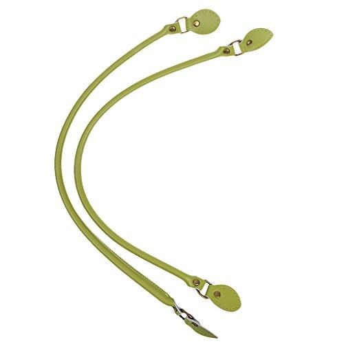 Cinturino Cinture Manico Artigianato Te per Cinghie Fai Verde Rosso Homyl Da Borsa 2pz 1ExpqRg