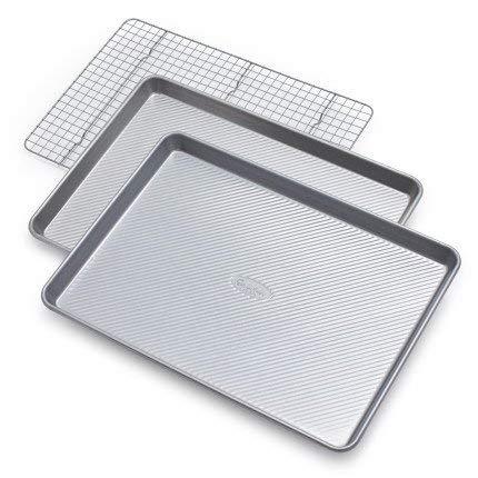 Sur La Table Platinum Professional Bakeware 21350ST, Set of 3 by Sur La Table (Image #1)