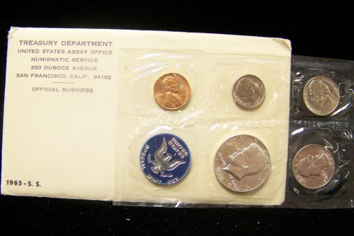 1965 SMS Special Mint Set in Original Packaging