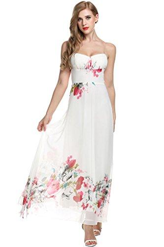 90s floral maxi dress - 9