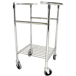 Deluxe Ss Mixing Bowl, Mobile Stand -- 1 Each