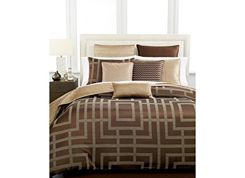 HOTEL COLLECTION - Savoy Espresso Brown 20 x 20 Decorative Pillow