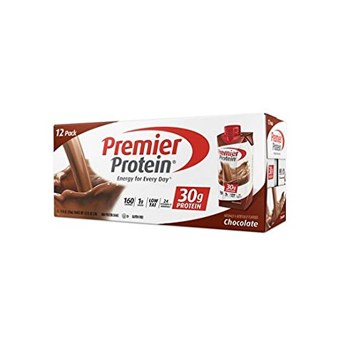Premier nutrition high protein shake, chocolate 11 oz., 2Pack (18 count Each ) by Premier Protein