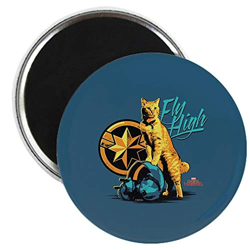 Goose Magnet - CafePress Captain Marvel Goose The Cat 2.25