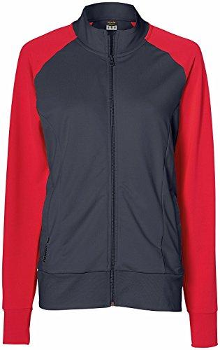 erima mujer Green Concept chaqueta deportiva con capucha Gris - Silex/Coral