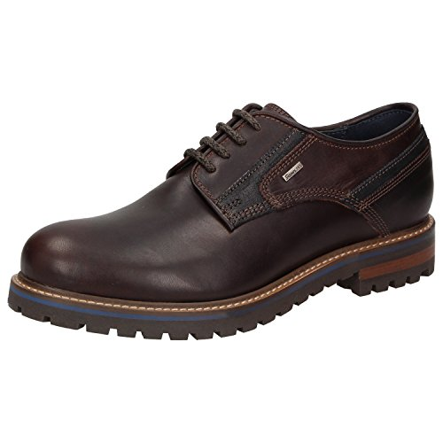 Sioux Men's Lace-Up Flats brown brown