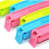 Swab BPA Free Plastic Food Snack Bag Pouch Clip Sealer (Pack of 18) for Keeping Food Fresh