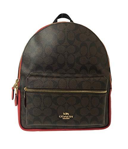 c1ddcbd432 Coach Mini Charlie Pebble Leather Backpack (Chalk) - Amazon DEAL!