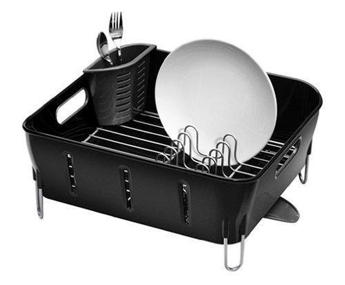 simplehuman Compact Dish Black Plastic product image