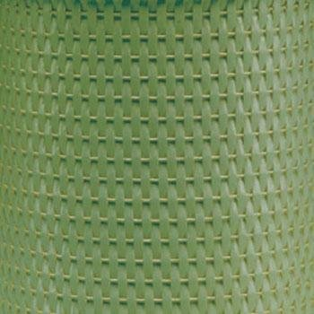 Redmon Chelsea Collection Wicker Wastebasket, Sage Green