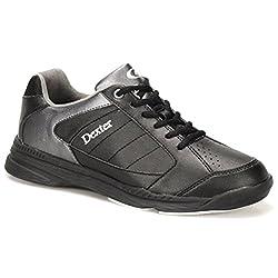 Dexter Men's Ricky Iv Wide Bowling Shoes, Blackalloy, Size 14