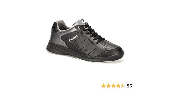 Mens Dexter RICKY IV Lite Bowling Shoes Black//Alloy Size 10