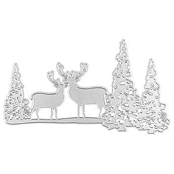 Stanzschablone cutting Die Schablone Frohe Weihnachten