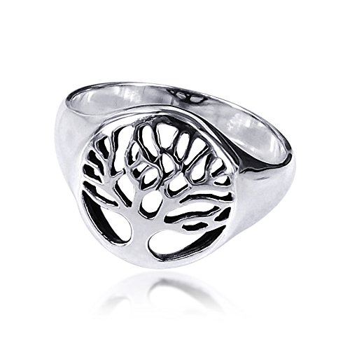 Flourishing Tree of Life .925 Sterling Silver Ring
