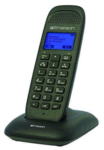 Emerson Telephone (Emerson EM7000 Dect_6.0 1-Handset 4-Line Landline Telephone, Black)