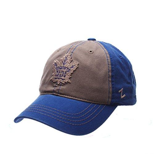 Maple Leafs Hats (Zephyr NHL Toronto Maple Leafs Men's Storm Front Strap Back Hat, Adjustable, Multicolor)