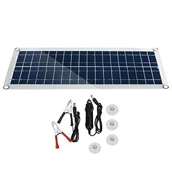 Moligh doll 30W 12V Dual USB Kit de Panel Solar Flexible ...