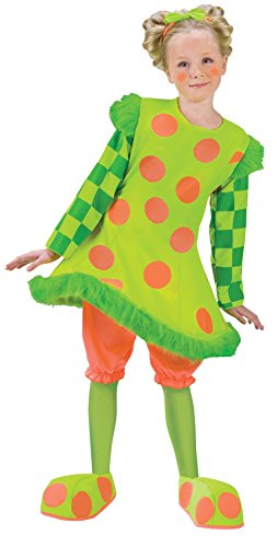 Clown Lolli Costumes (Lolli the Clown Toddler Costume - Toddler Small)