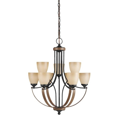 Seagull 3180409-846 Nine Light Chandelier, 10