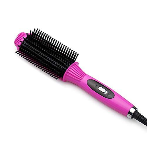 Hair Curler Straightener Brush Ceramic Hair Comb Hair Iron Styling Tools Multi-Function Fast Brush Straightener -