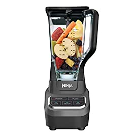 Ninja Professional 72oz Countertop Blender with 1000-Watt Base and Total Crushing Technology for Smoothies, Ice and Frozen Fruit (BL610), Black 53 The Ninja professional blender 1000 features a sleek design and outstanding performance with 1000 watts of professional power 64 ounce maximum liquid capacity Ninja total crushing blades gives you perfect ice crushing, blending, pureeing, and controlled processing crush ice and frozen fruit in seconds The 72 oz professional blender jar is perfect for making large batches of creamy, frozen drinks and smoothies for the entire family also perfect for large batches of delicious margaritas and daiquiris