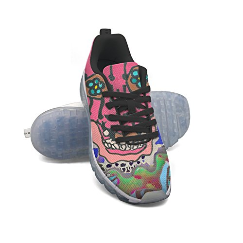 2014 cheap price EUUAIR Women's Mescalito Style Skull Fitness Air Cushion Shoes Casual Running Walking Sneakers new styles for sale qTph6JZS6R